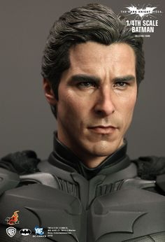 Hot Toys : The Dark Knight Rises - Batman 1/4th scale Collectible Figure I think this kind of sculpture is the leading edge today. Ancient Greeks would admire this.