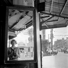 Vivian Maier :: Self portrait in Bangkok, Thailand, June 15th, 1959 more [+] by V. Maier