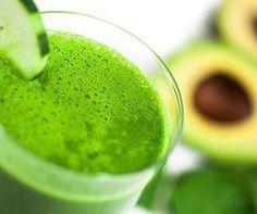 LEMON AVOCADO GREEN DRINK