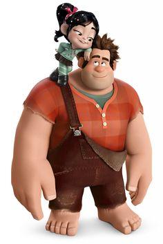 Wreck-it-Ralph - Ralph & Vanellope
