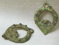 Viking age / Bronze pendants / Finland Halikko
