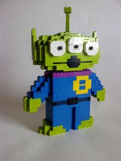 Toy Story Alien: A LEGO® creation by Angelo S. : MOCpages.com