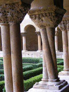 Patio de Santo Domingo de Silos   Burgos