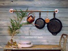 Copper Pot Rack [SOURCE]