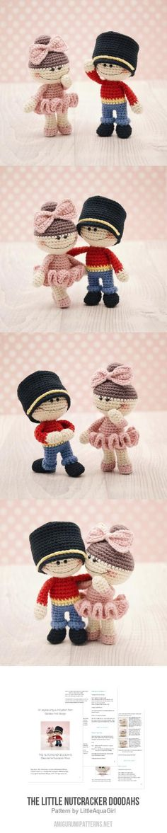The Little Nutcracker Doodahs Amigurumi Pattern