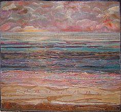 Textile artist Nellie Durand.  Beautiful!