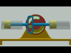 Converting Rotation To Rotary And Linear Reciprocating Motion - YouTube