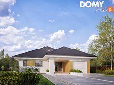 Projekt domu Decyma 7 - wizualizacja frontowa
