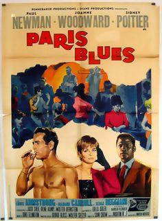 Paris Blues Paul Newman Martin Ritt 1961 Movie Poster 137906 | eBay
