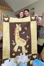 baby quilt pattern giraffe - Google Search
