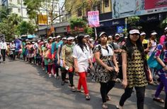 Tollywood Celebs at WALKATHON for Welfare of Women in society with theme Either Awake, Arise or Get Victimized by EICASA
