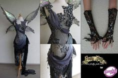 Dark fairy costume: Love this for the costume party
