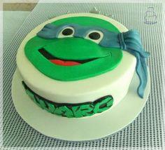 Tarta tortuga ninja 2D
