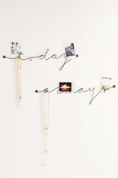 Plum & Bow Wire Text Wall Art - Urban Outfitters