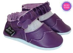 Hand Made Baby Mary Janes Soft sole Leather Baby Shoes by minitoes