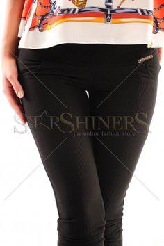 Pantaloni PrettyGirl Jocund Black