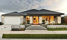 modern front yard - Google Search