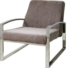 Uttermost 23142 Dimas Modern Accent Chair