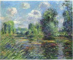 """""""bois près de la rivière Eure (1920)"""", 1920 de Gustave Loiseau (1865-1935, France)"""