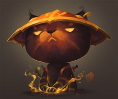 kitty ember by on DeviantArt Cat Character, Character Design, Pet Websites, Dota 2 Wallpaper, Creature Concept, Illustrations And Posters, Creature Design, Funny Art, Pictures To Paint