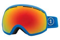 Electric - EG2 Royal Blue Goggles, Brose/Red Chrome Lenses