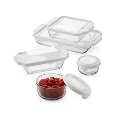 Anchor Hocking ® Bake and Store 10-Piece Set | Crate and Barrel