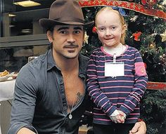 25.12.2010 Colin Farrell's heart melts for children with rare skin disease - IrishCentral.com