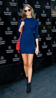 eb94b2bb27 Glamour Style Icon of the Week Karlie Kloss Nails Street to Red Carpet Style  Every.