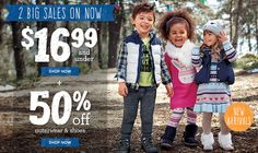Gymboree - Free shipping on every order - today only! 50% off Outerwear & Shoes! - http://www.pinchingyourpennies.com/gymboree-free-shipping-on-every-order-today-only-50-off-outerwear-shoes/ #Freeshipping, #Gymboree, #Outerwear
