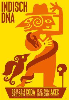 Poster Indisch DNA Max Kisman