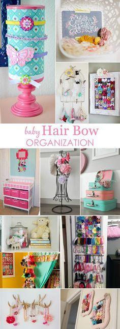 Baby Hair Bow Organization Ideas - Project Nursery