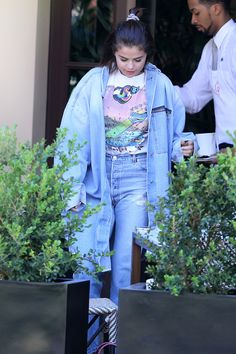 April 28: Selena at the Montage Hotel in Beverly Hills, California