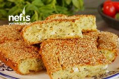 Food Design, Cornbread, Banana Bread, Sandwiches, French Toast, Snacks, Breakfast, Ethnic Recipes, Desserts