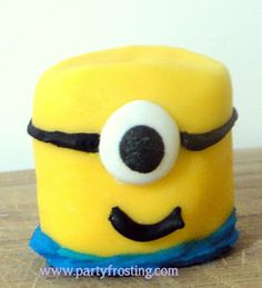Tutorial link for Despicable Me marshmallow Minions