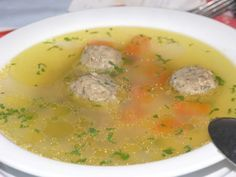 North Croatian Liver Dumplings for Soup