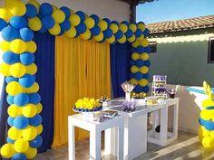 Decoração de Festa de Aniversário Infantil Tema Minions