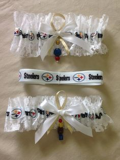 "Pittsburgh ""Steelers"" Garter by SportzNutty on Etsy"
