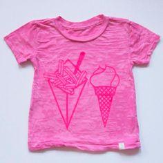 fries & ice cream tee