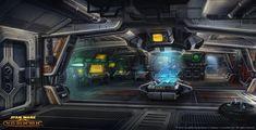 Spaceship Bridge Interior | SWTOR Republic Trooper Guide | Star Wars: TOR Fever | SWTOR Guides ...