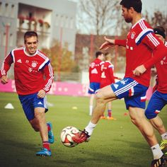 Alonso and Lahm