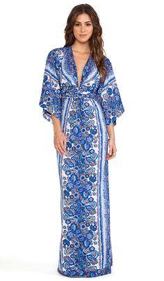 Tularosa Rosella Maxi Dress in Multi Date Outfits, Chic Outfits, Dress Outfits, Fashion Outfits, Blue Fashion, White Maxi Dresses, Summer Dresses, Long Dresses, Formal Dresses