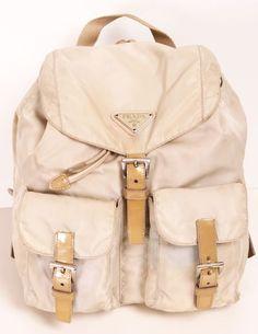 Prada backpack <3