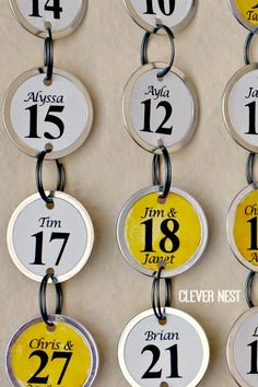 easy and lightweight alternative to make a birthday calendar- balsa wood and paper key tags! No power tools needed Balsa Wood Ideas Family Birthday Calendar, Family Birthday Board, Family Calendar, Diy Calendar, Birthday Diy, Diy Birthday Reminder, Birthday Nails, Happy Birthday, Craft Gifts