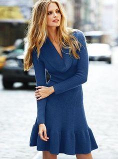 victoria secret Moda XS Purple Dress
