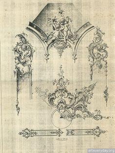4 | Орнаменты в стиле рококо высокого качества | ARTeveryday.org