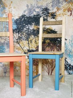 Create a easy DIY fall look with paint, twine and IKEA IVAR chairs! Read more about it on: http://livethemma.ikea.se/inspiration/diy-ivar-stol-i-hostskrud