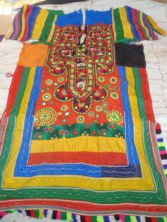 indian banjara tribal area rajasthan dresses with mirror work