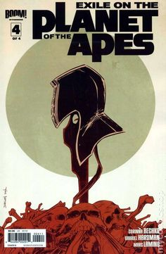 Exile on the Planet of the Apes (2012 Boom) 4B Comic book covers movie