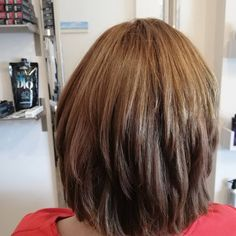 Wet Wednesday - Our salon educator did Claire's root colour and added a  few flashes to even out her colour.   Claire wanted a bit of movement and layers in her hair so we did a bit of point cutting to add a few layers. @baghambarnhair.co.uk #rootcolour #haircut #hairstyles #haircut #Chilhamhair #hair
