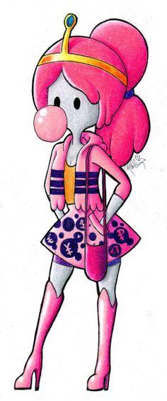 princess_bubblegum_by_yelloemello-d6gdhsl.jpg (1024×2456)